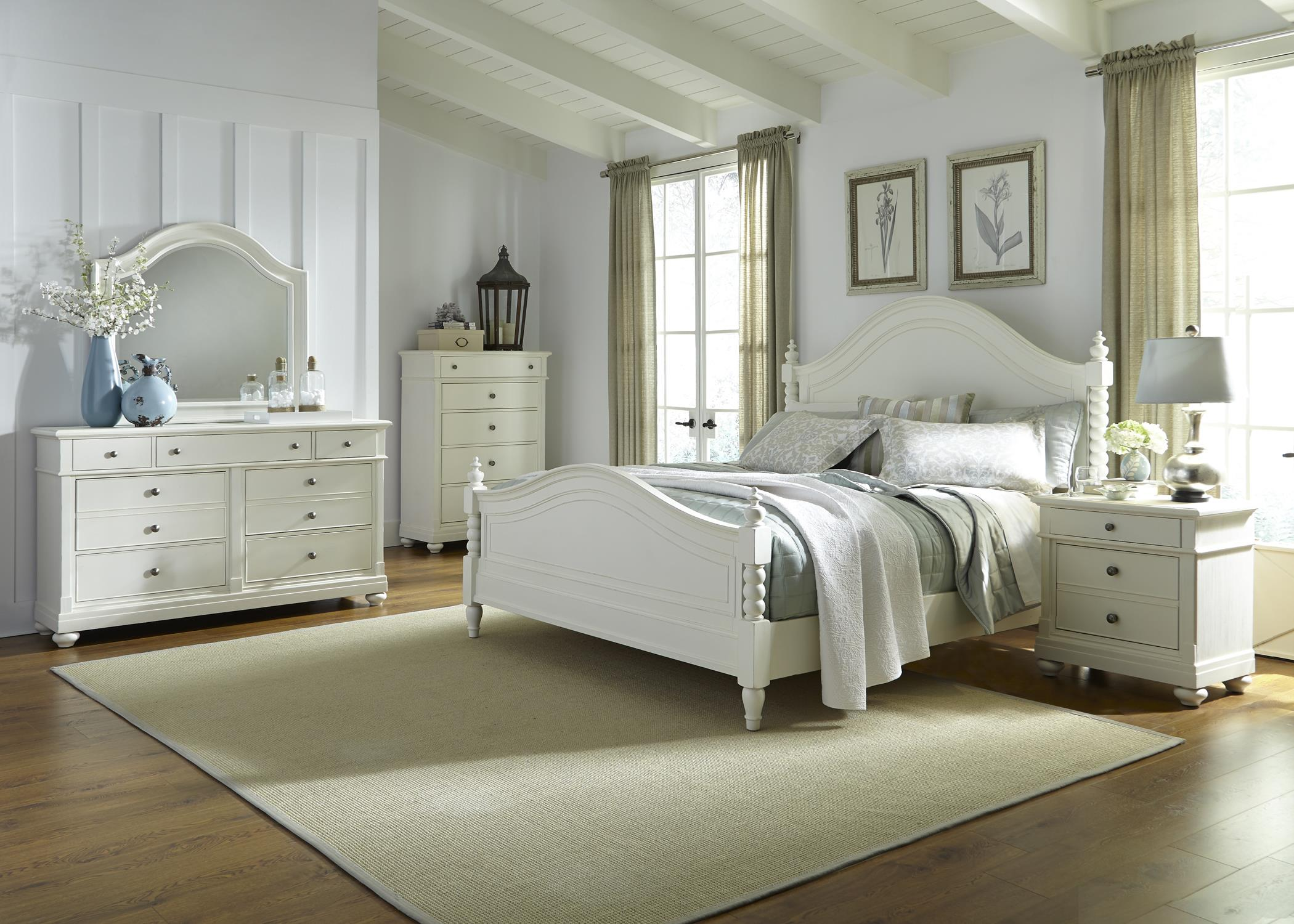 Liberty Furniture Harbor View King Bedroom Group - Item Number: 631-BR-KPSDMCN