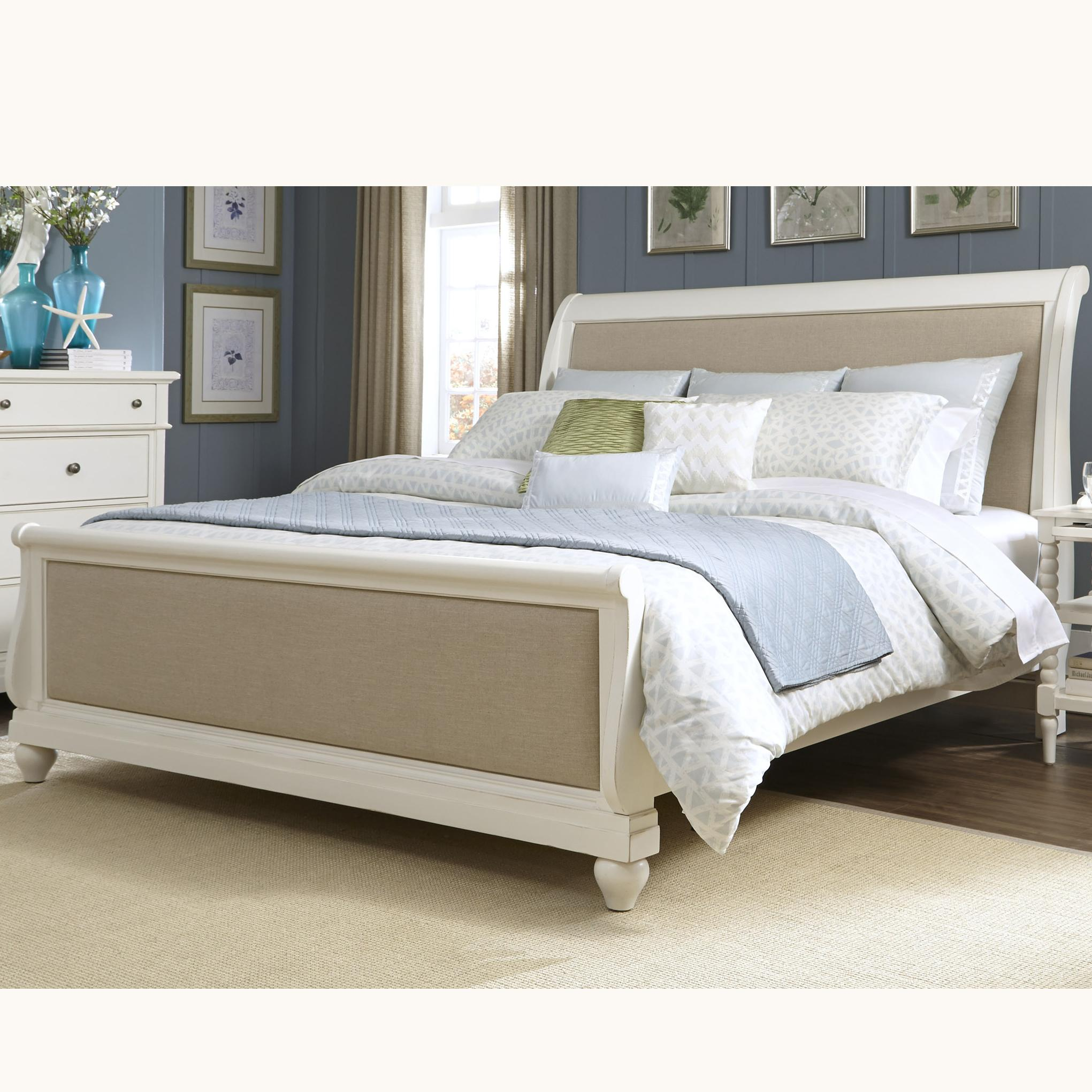 Liberty Furniture Harbor View King Sleigh Bed - Item Number: 631-BR-KSL