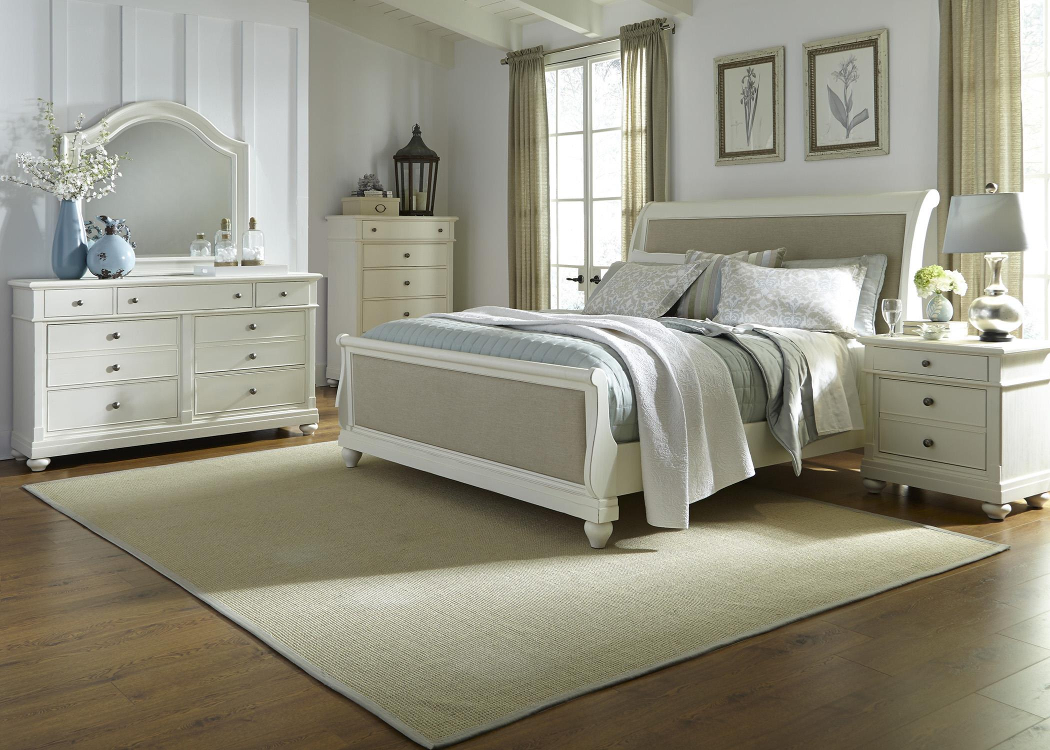 Liberty Furniture Harbor View King Bedroom Group - Item Number: 631-BR-KSLDMCN