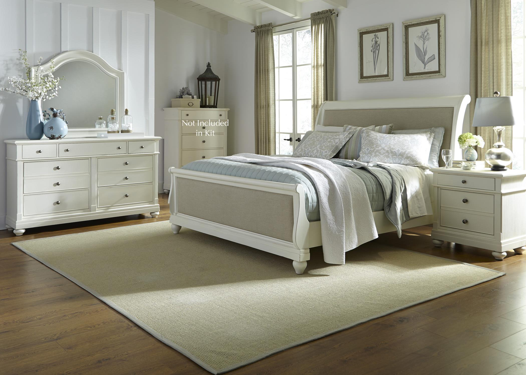 Liberty Furniture Harbor View King Bedroom Group - Item Number: 631-BR-KSLDMN