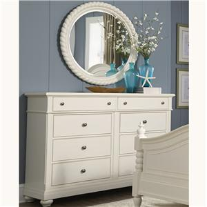 Vendor 5349 Harbor View Dresser and Mirror