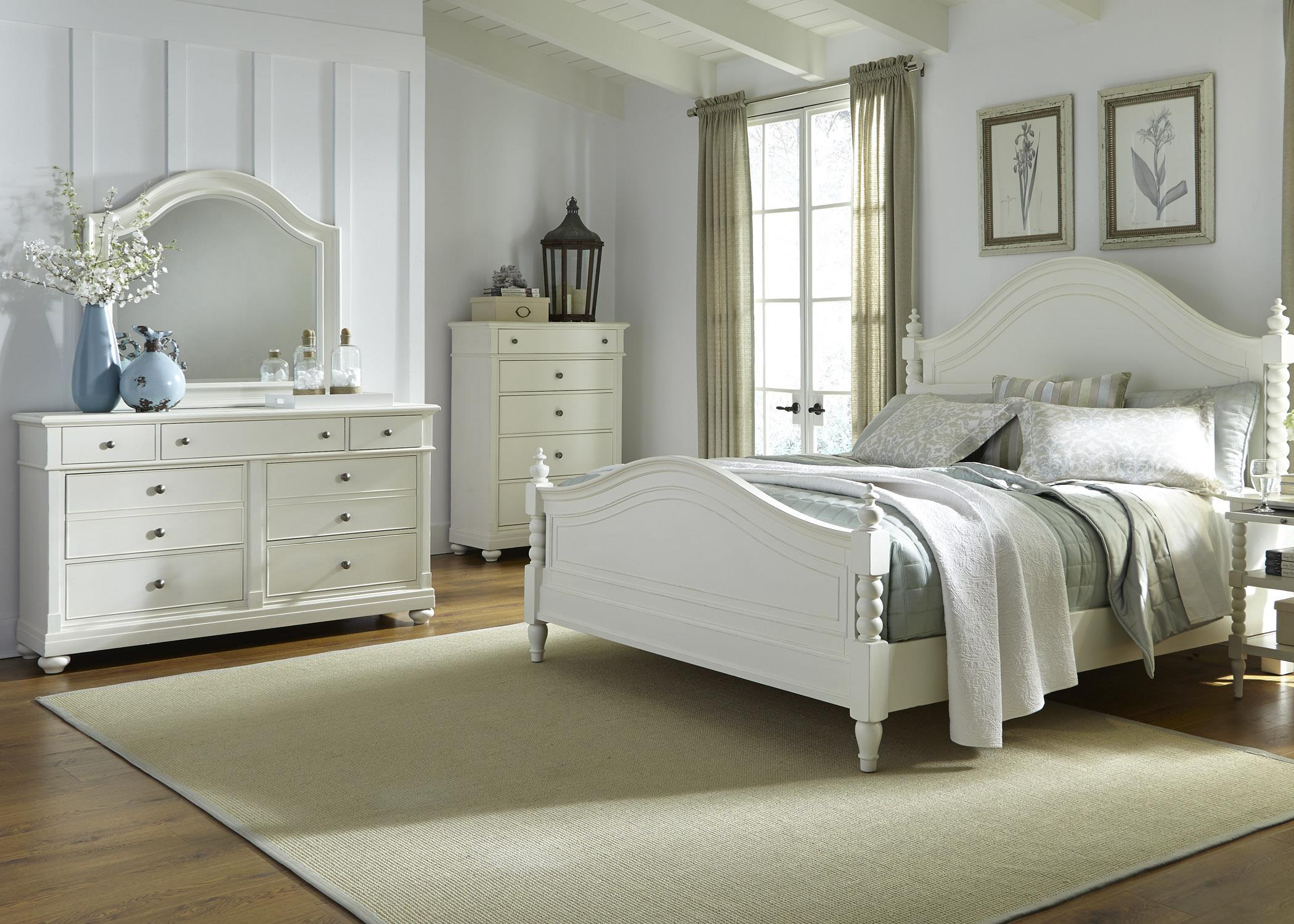 Liberty Furniture Harbor View Queen Bedroom Group - Item Number: 631-BR-QPSDMC