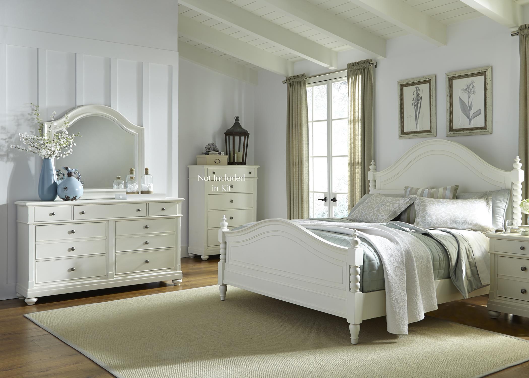 Liberty Furniture Harbor View Queen Bedroom Group - Item Number: 631-BR-QPSDMN