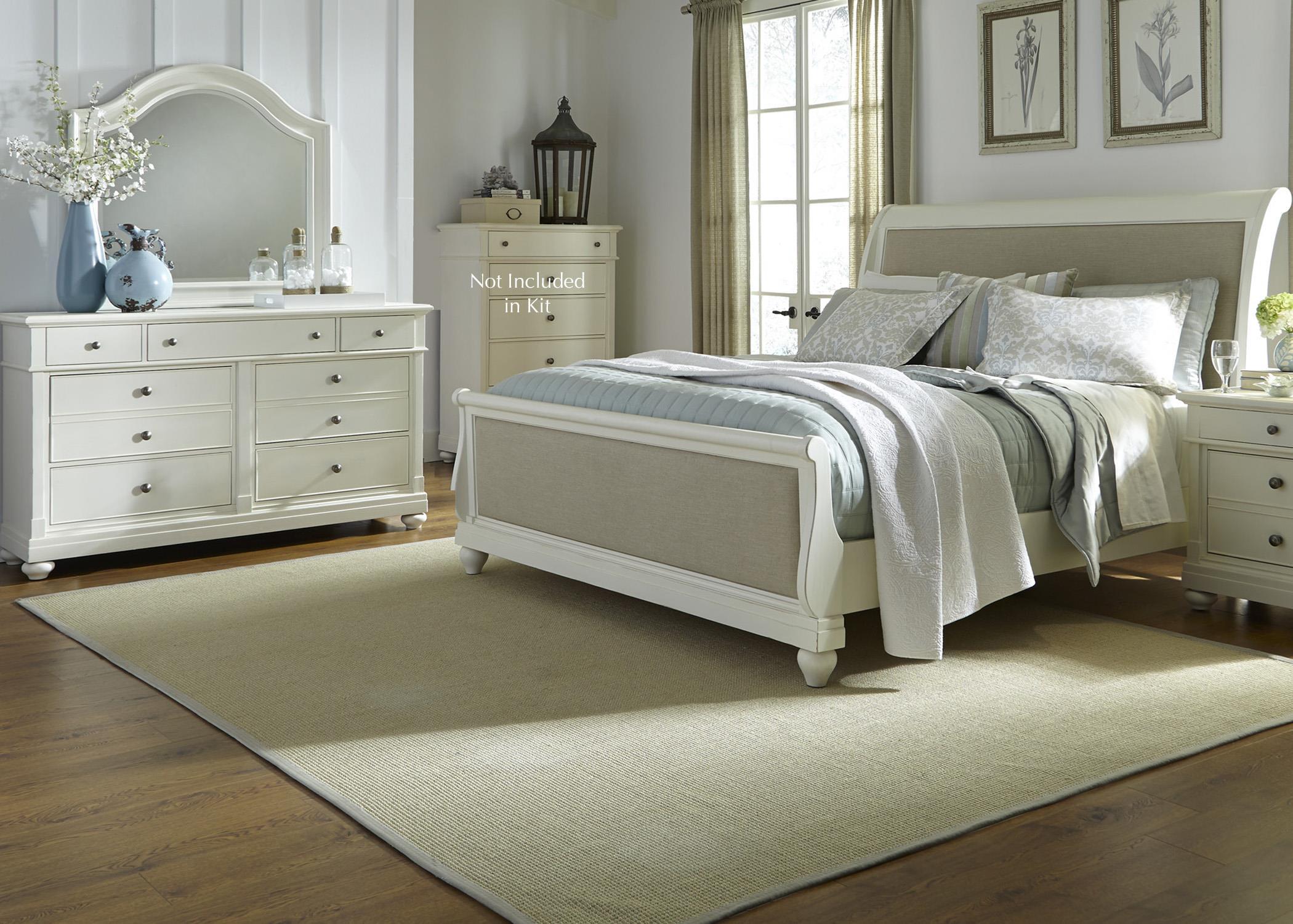 Liberty Furniture Harbor View Queen Bedroom Group - Item Number: 631-BR-QSLDM