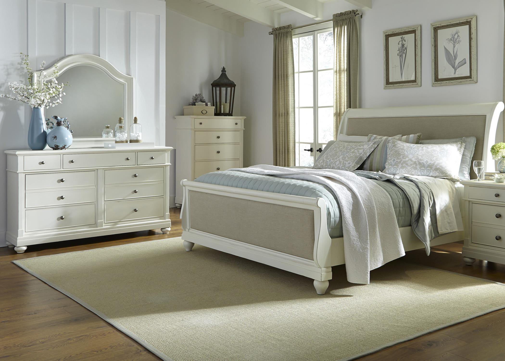 Liberty Furniture Harbor View Queen Bedroom Group - Item Number: 631-BR-QSLDMC