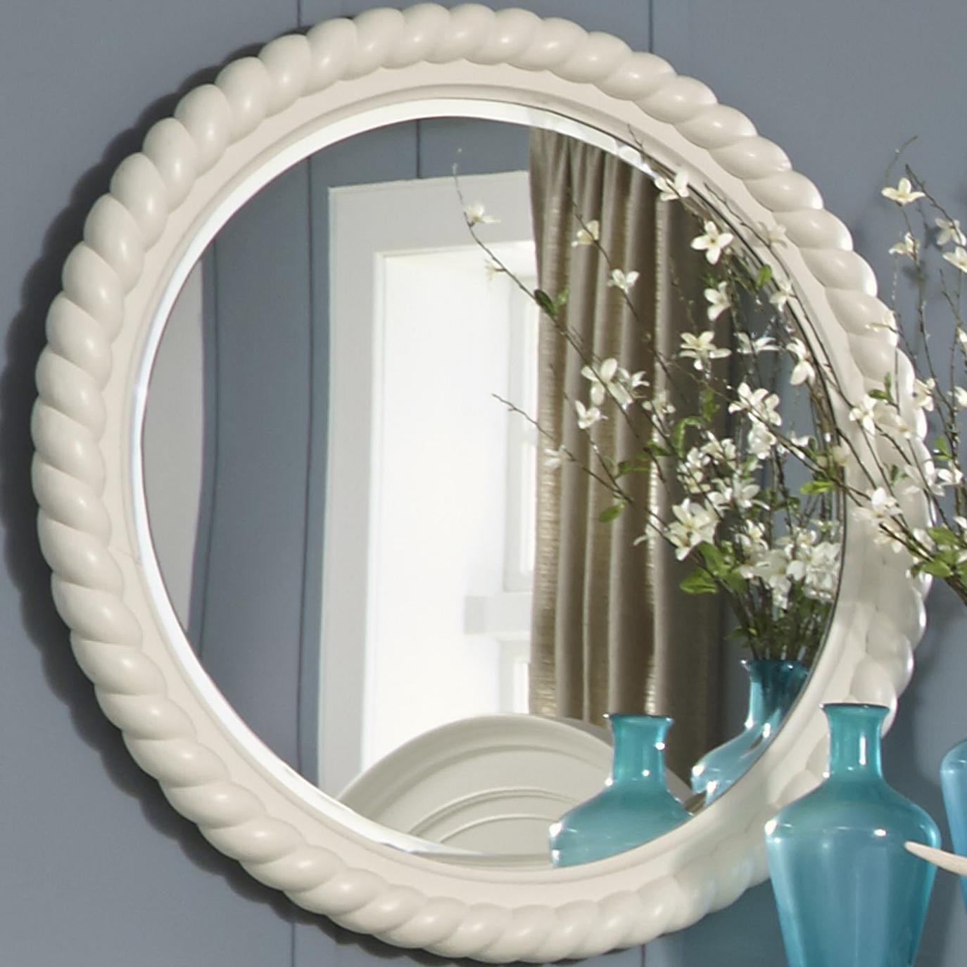 Liberty Furniture Harbor View Rope Mirror - Item Number: 631-BR52
