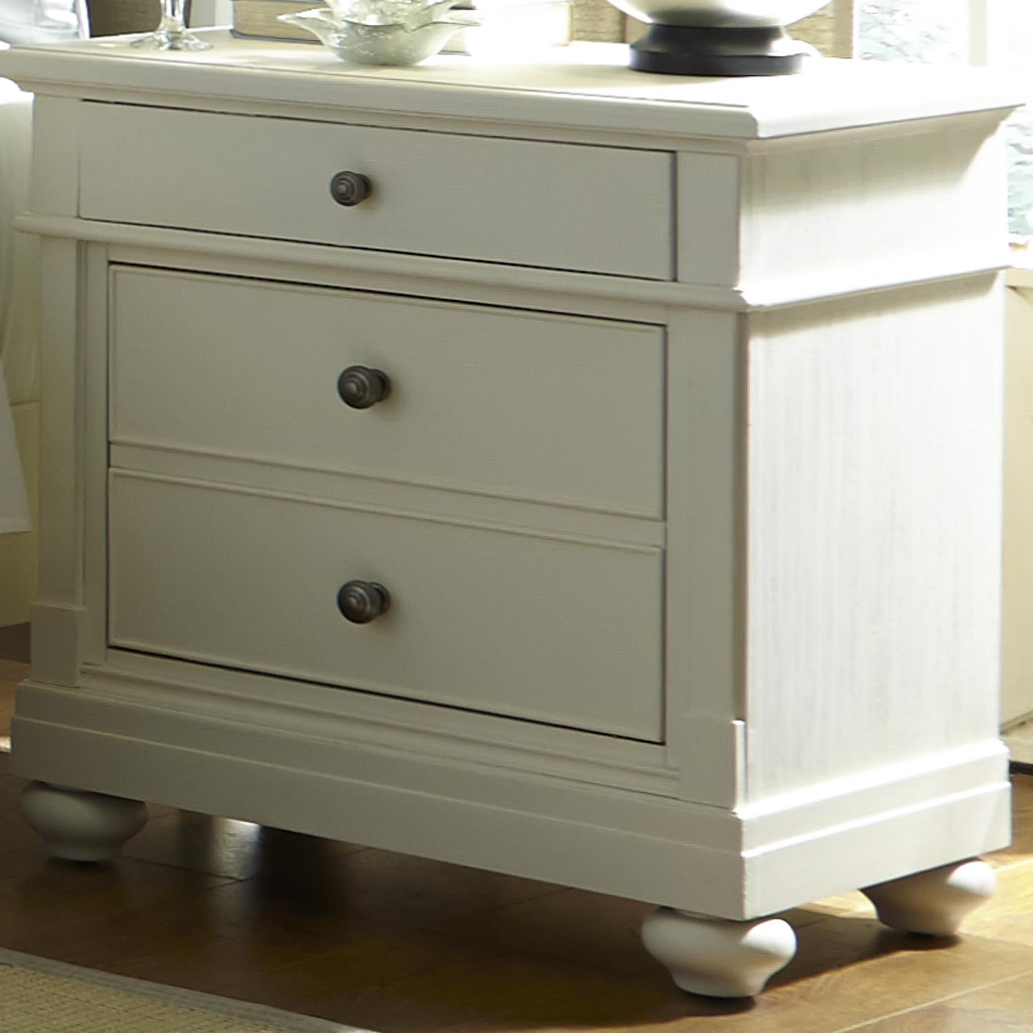 Liberty Furniture Harbor View Night Stand  - Item Number: 631-BR61