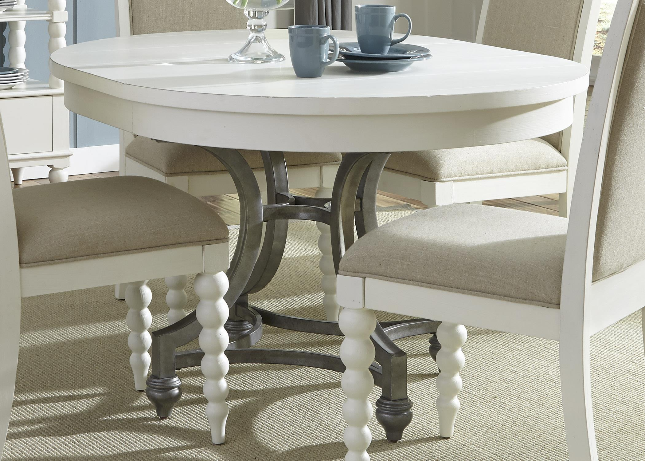 Liberty Furniture Harbor View Round Dining Table                           - Item Number: 631-T4254