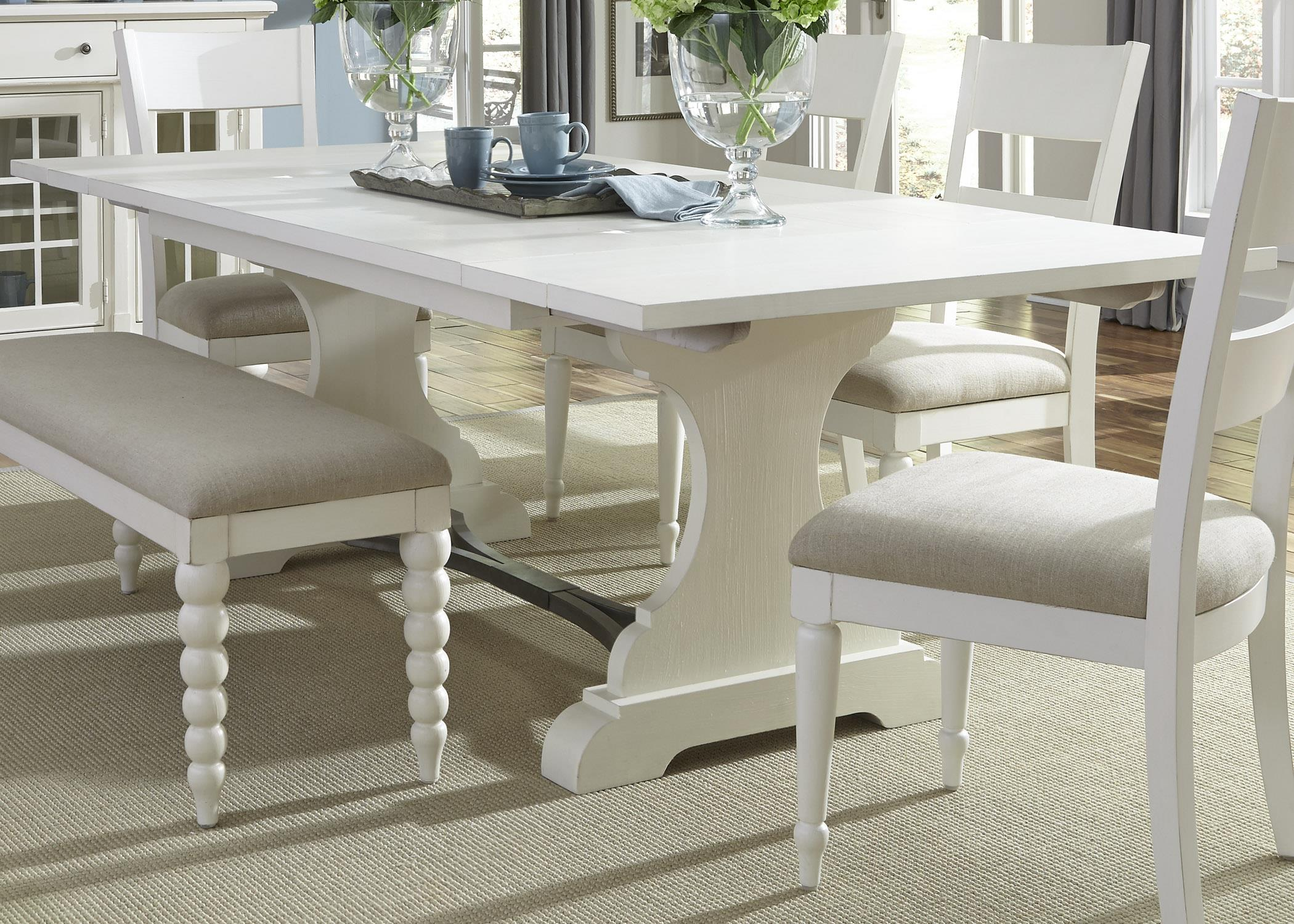 Liberty Furniture Harbor View Trestle Dining Table - Item Number: 631-T4294