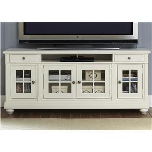 "Liberty Furniture Harbor View 74"" TV Console"