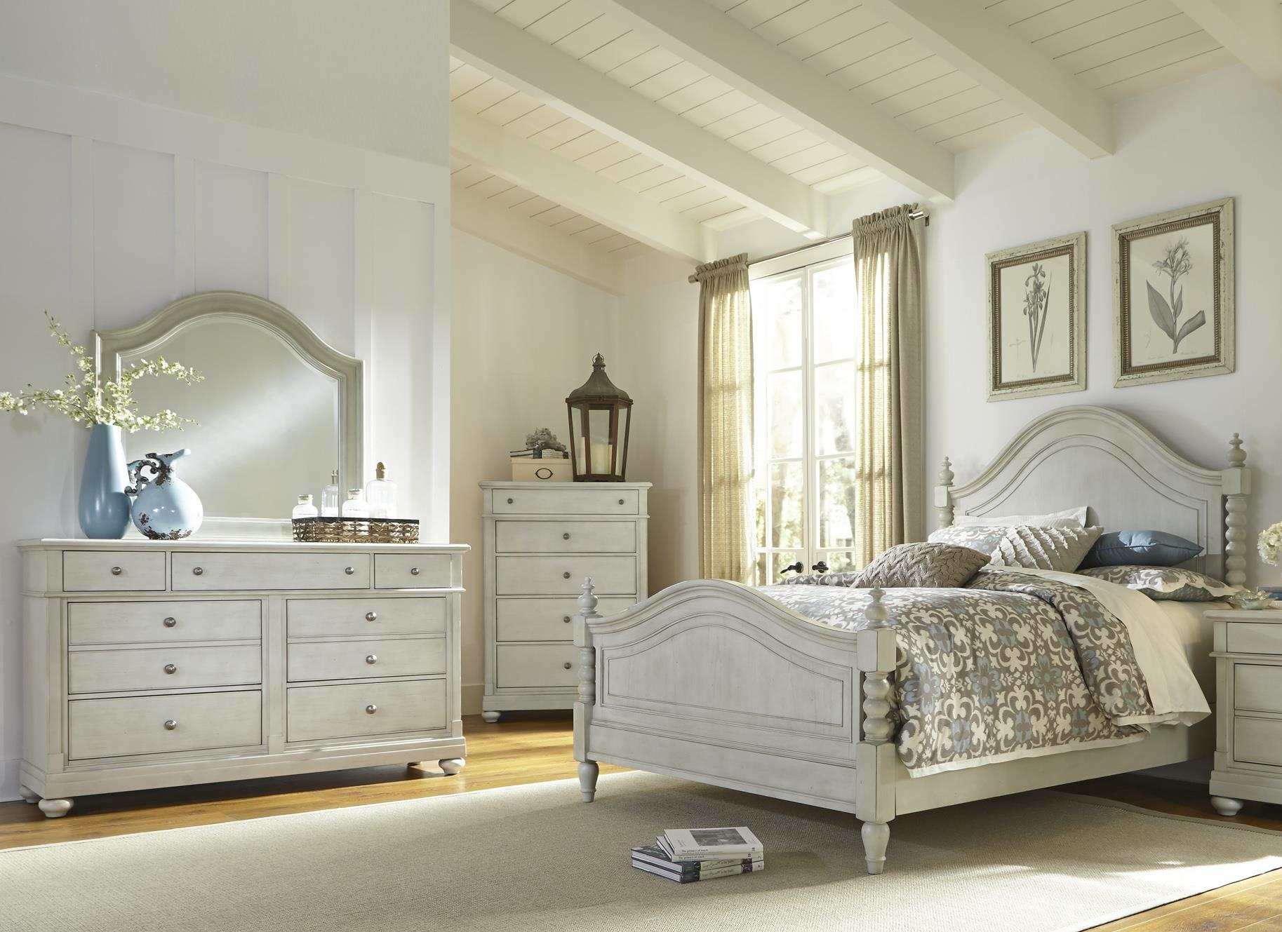 Liberty Furniture Harbor View King Bedroom Group - Item Number: 731-BR-KPSDMC