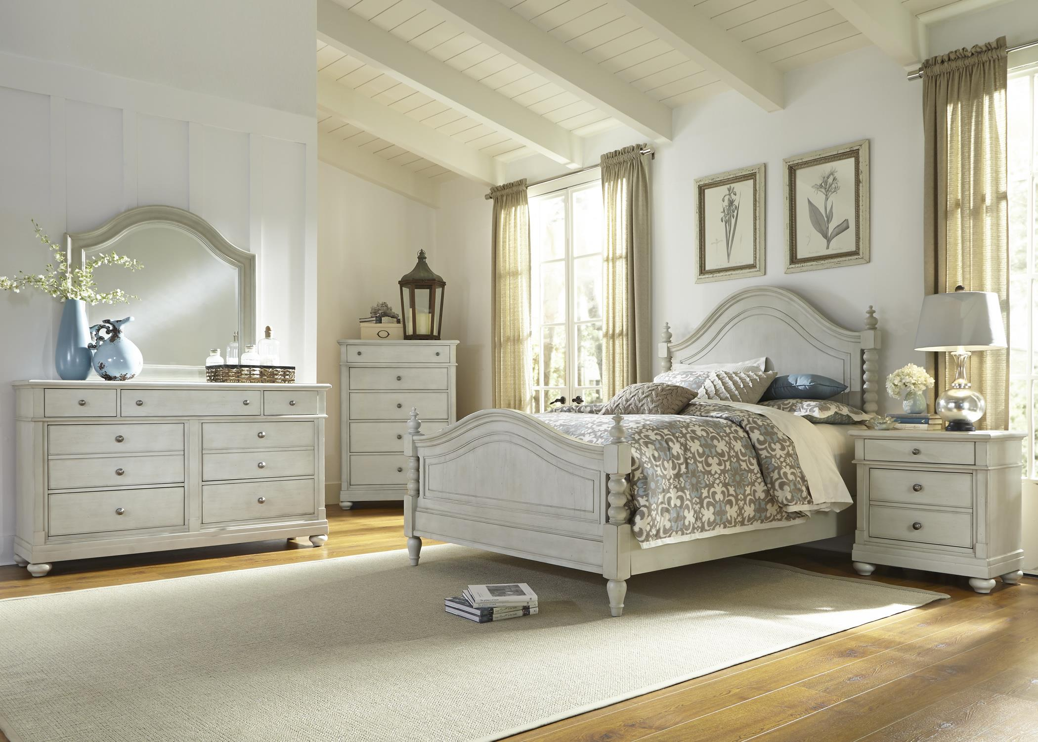 Liberty Furniture Harbor View King Bedroom Group - Item Number: 731-BR-KPSDMCN