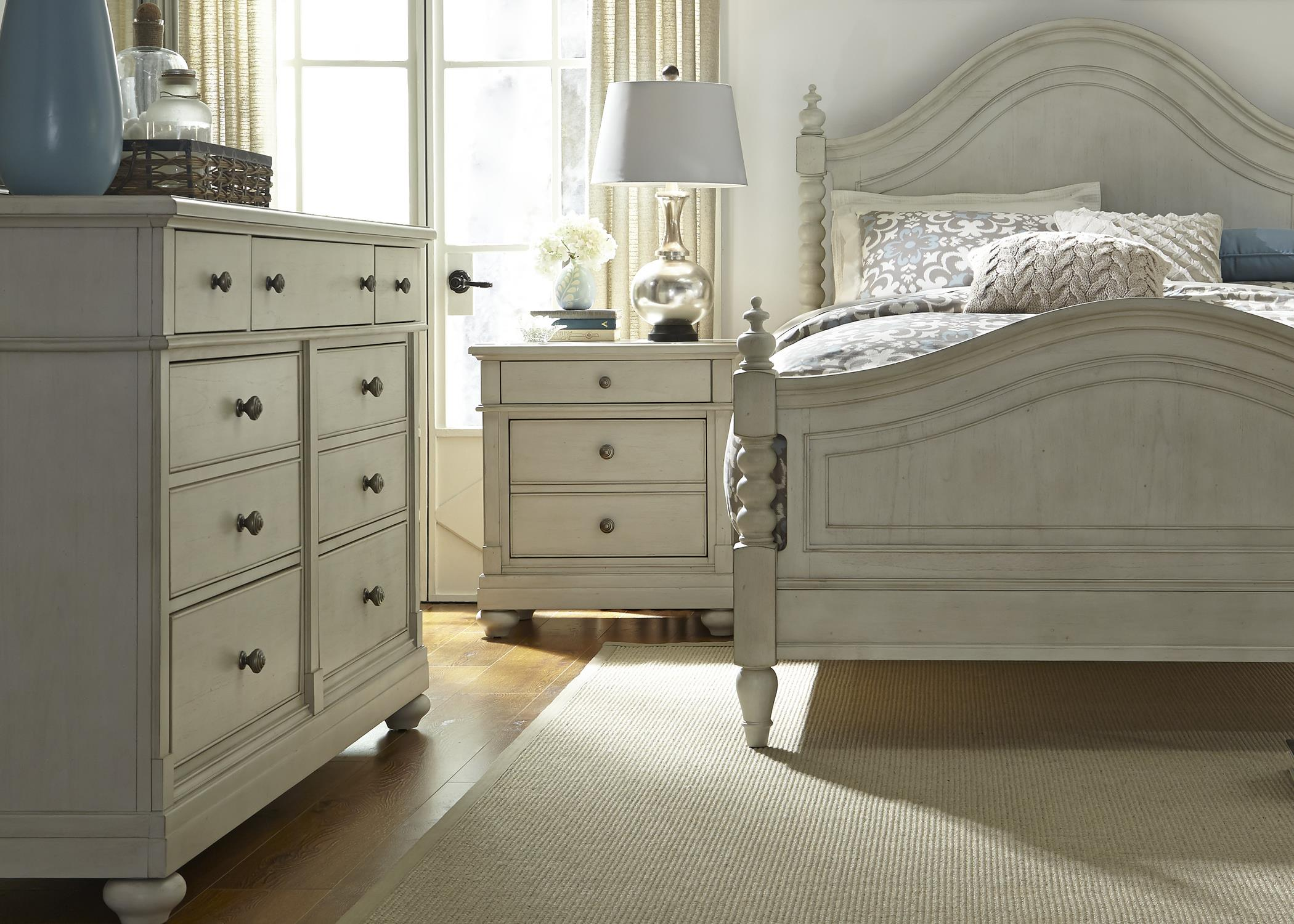 Liberty Furniture Harbor View King Bedroom Group - Item Number: 731-BR-KPSDMN