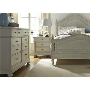 Liberty Furniture Harbor View King Bedroom Group