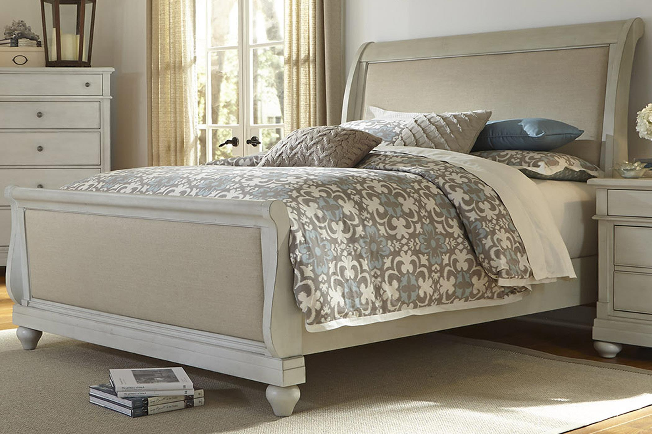 Liberty Furniture Harbor View King Sleigh Bed - Item Number: 731-BR-KSL