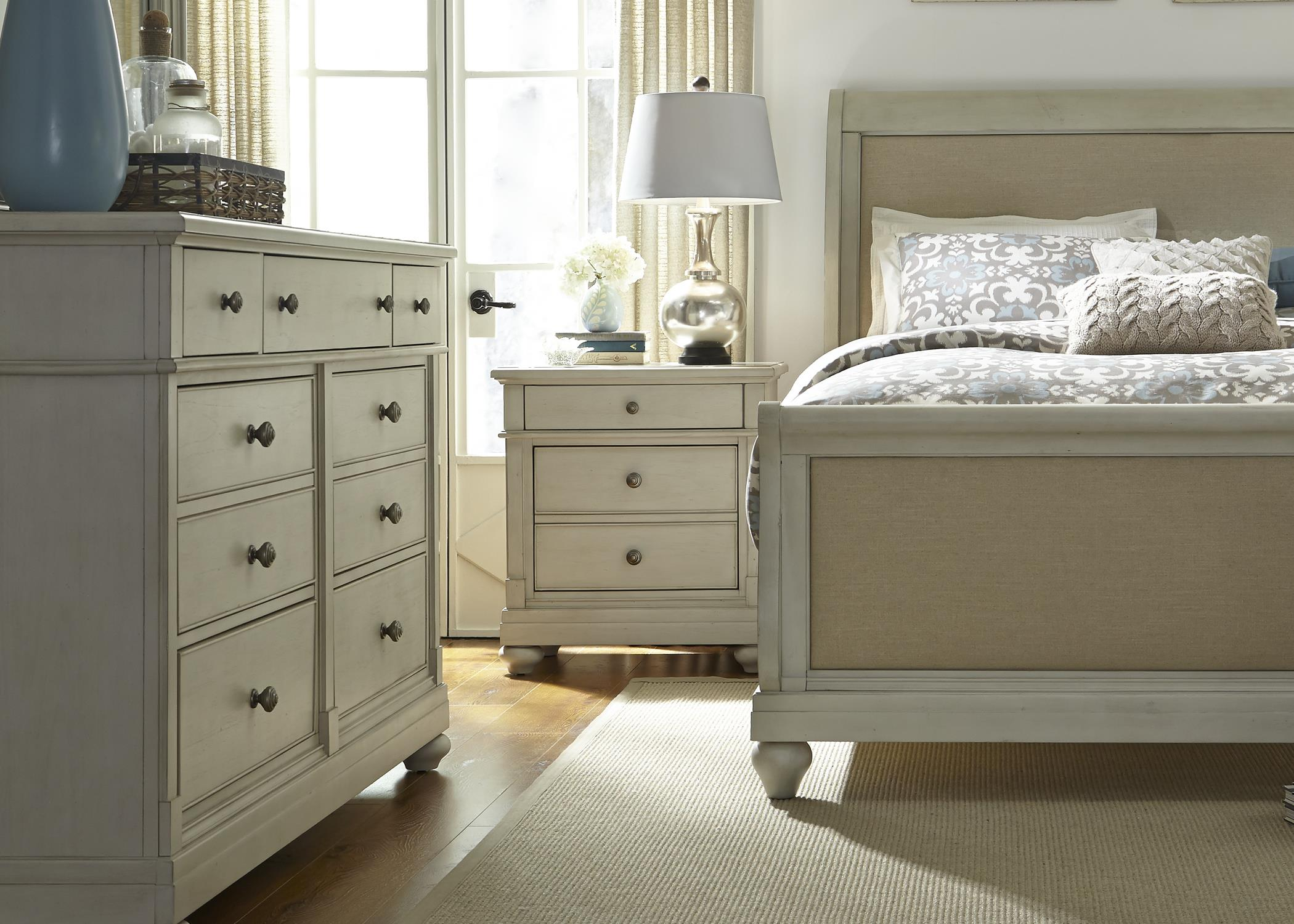 Liberty Furniture Harbor View King Bedroom Group - Item Number: 731-BR-KSLDMN