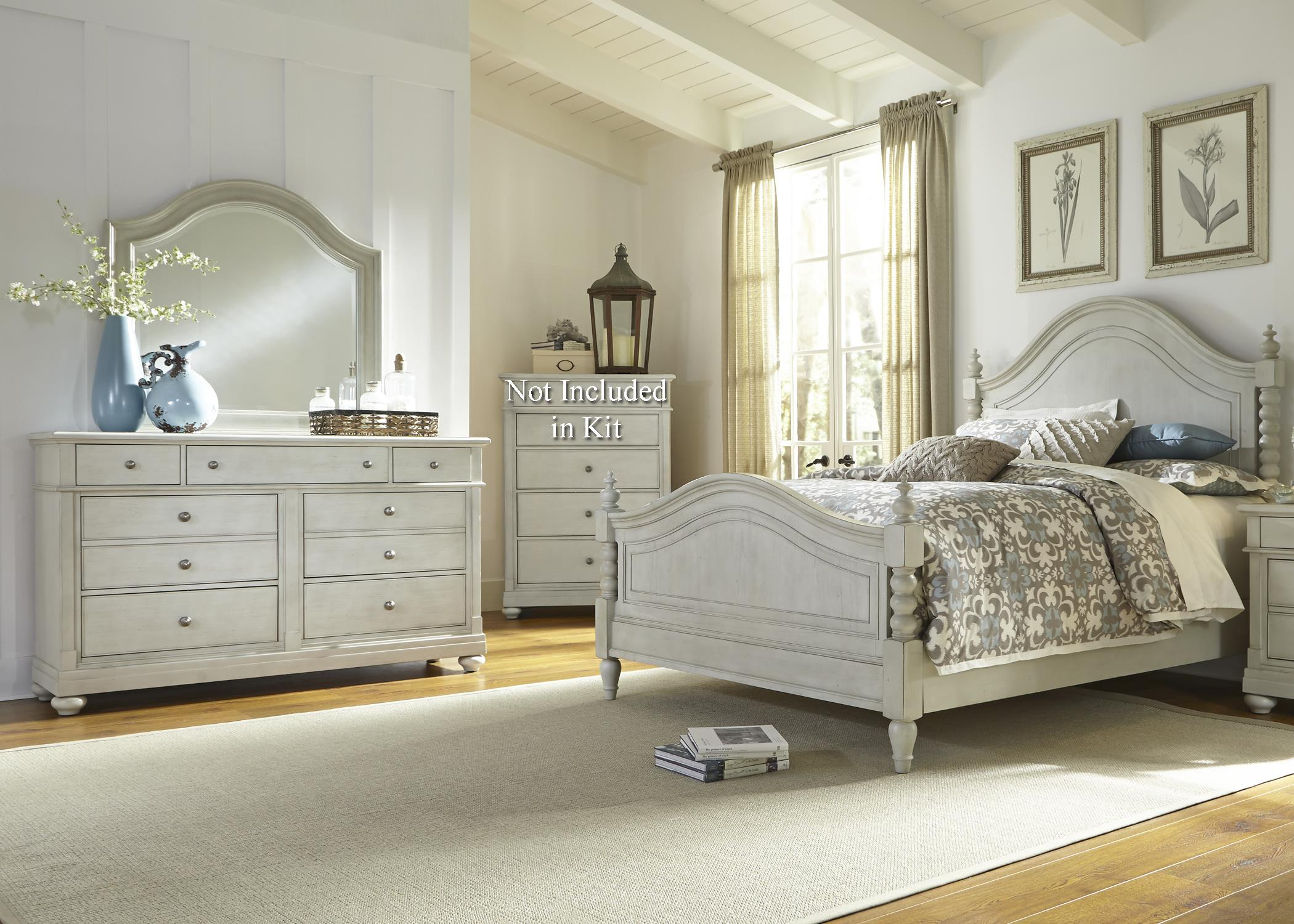 Liberty Furniture Harbor View Queen Bedroom Group - Item Number: 731-BR-QPSDM