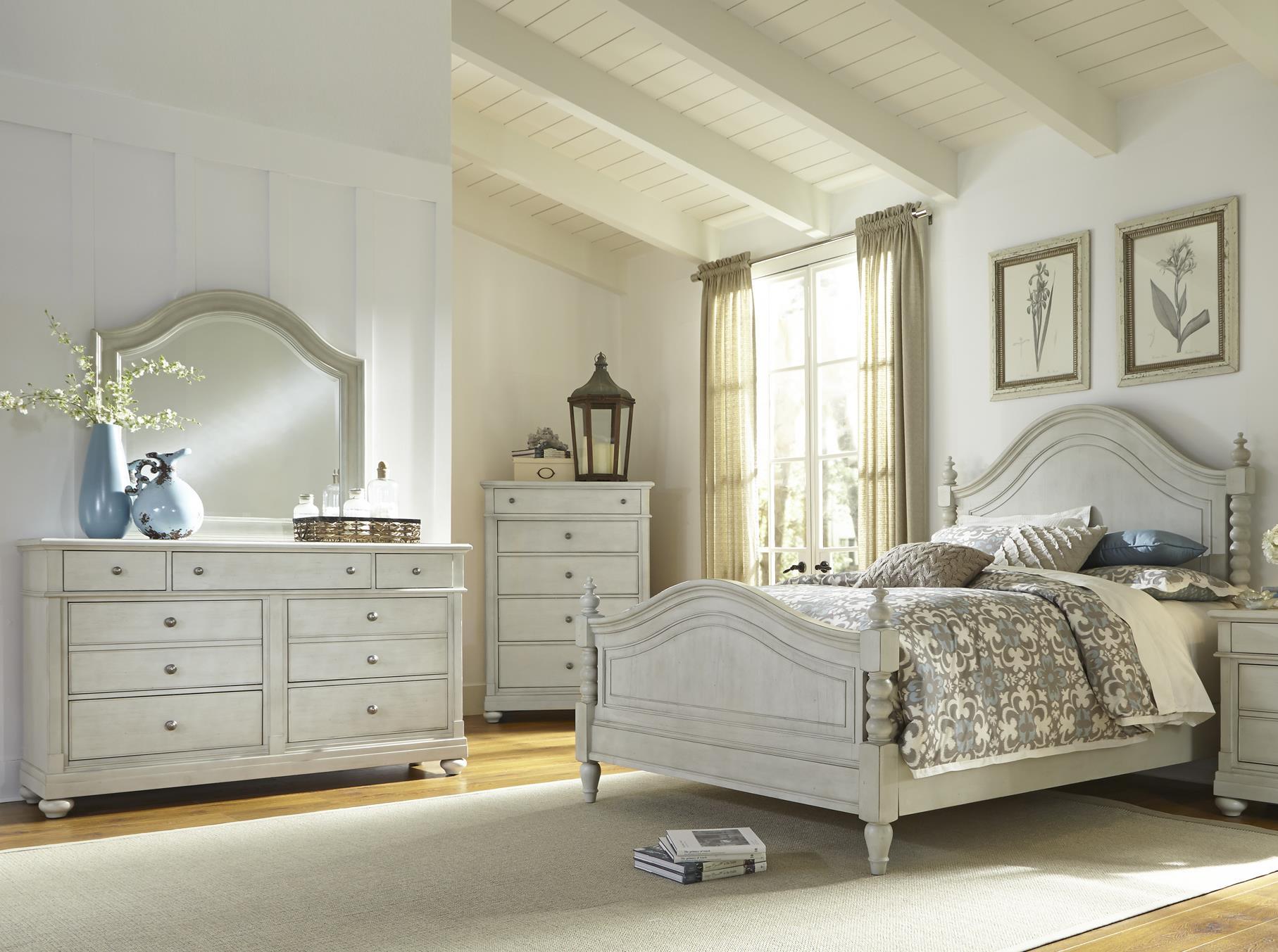 Liberty Furniture Harbor View Queen Bedroom Group - Item Number: 731-BR-QPSDMC