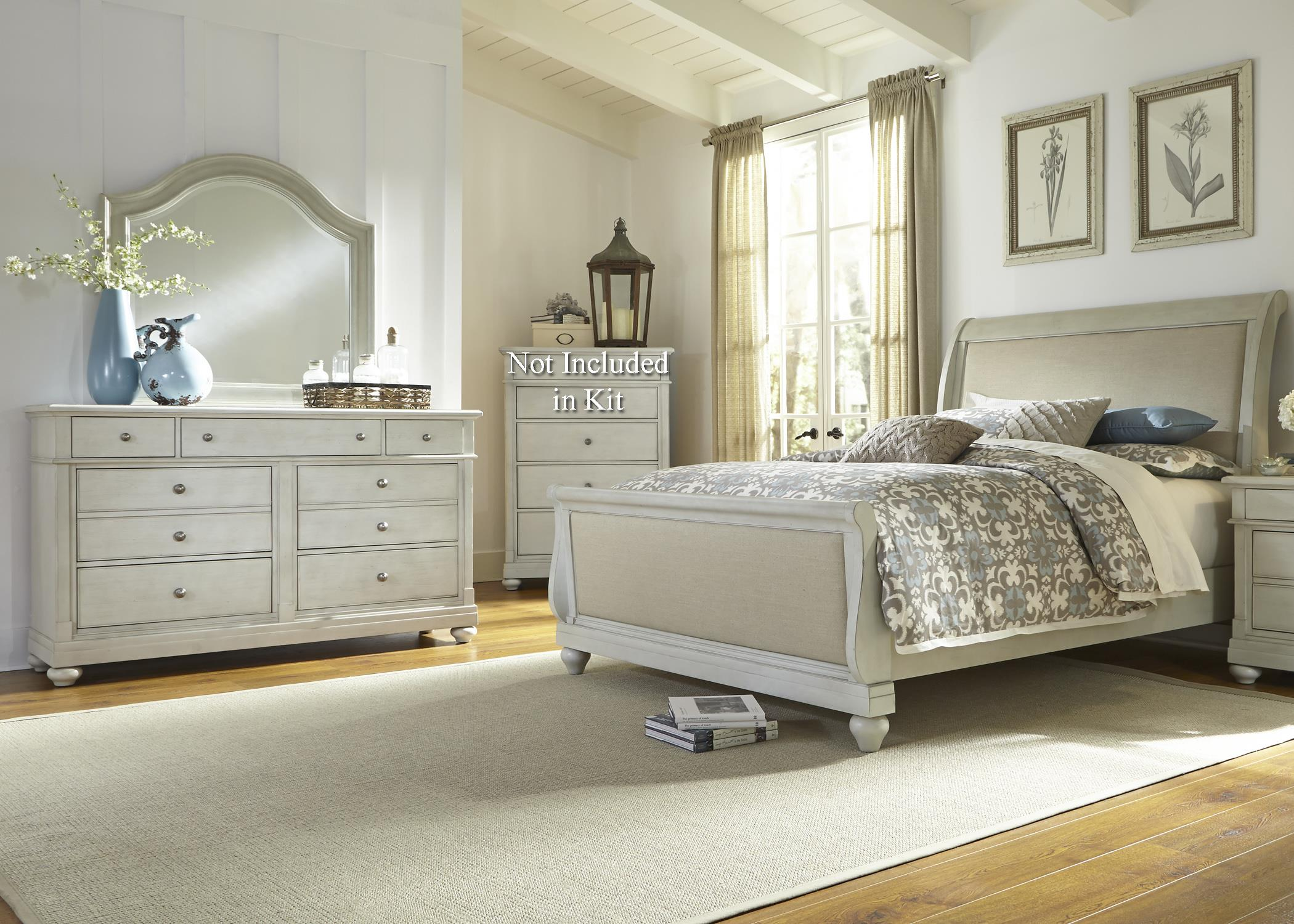 Liberty Furniture Harbor View Queen Bedroom Group - Item Number: 731-BR-QSLDM