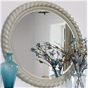 Liberty Furniture Harbor View Rope Mirror - Item Number: 731-BR52