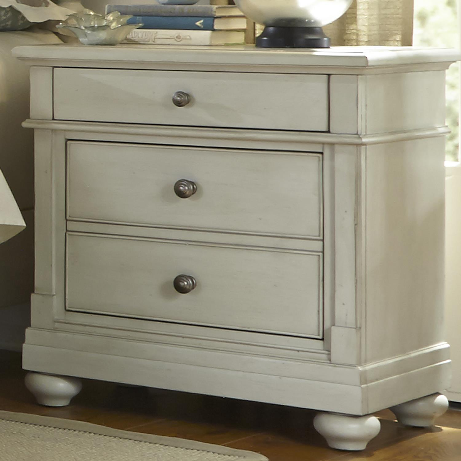 Liberty Furniture Harbor View Night Stand  - Item Number: 731-BR61