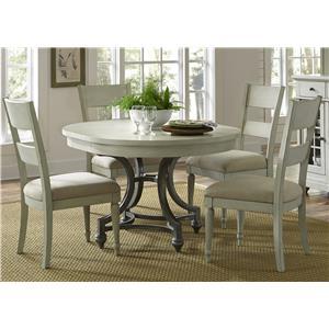 Vendor 5349 Harbor View Round Table Chair Set