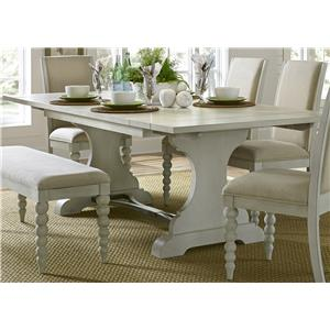 Liberty Furniture Harbor View Trestle Dining Table