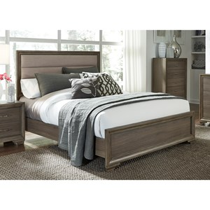 Liberty Furniture Hartly Queen Upholstered Bed