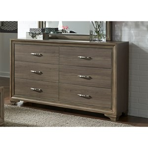 Liberty Furniture Hartly 6 Drawer Dresser