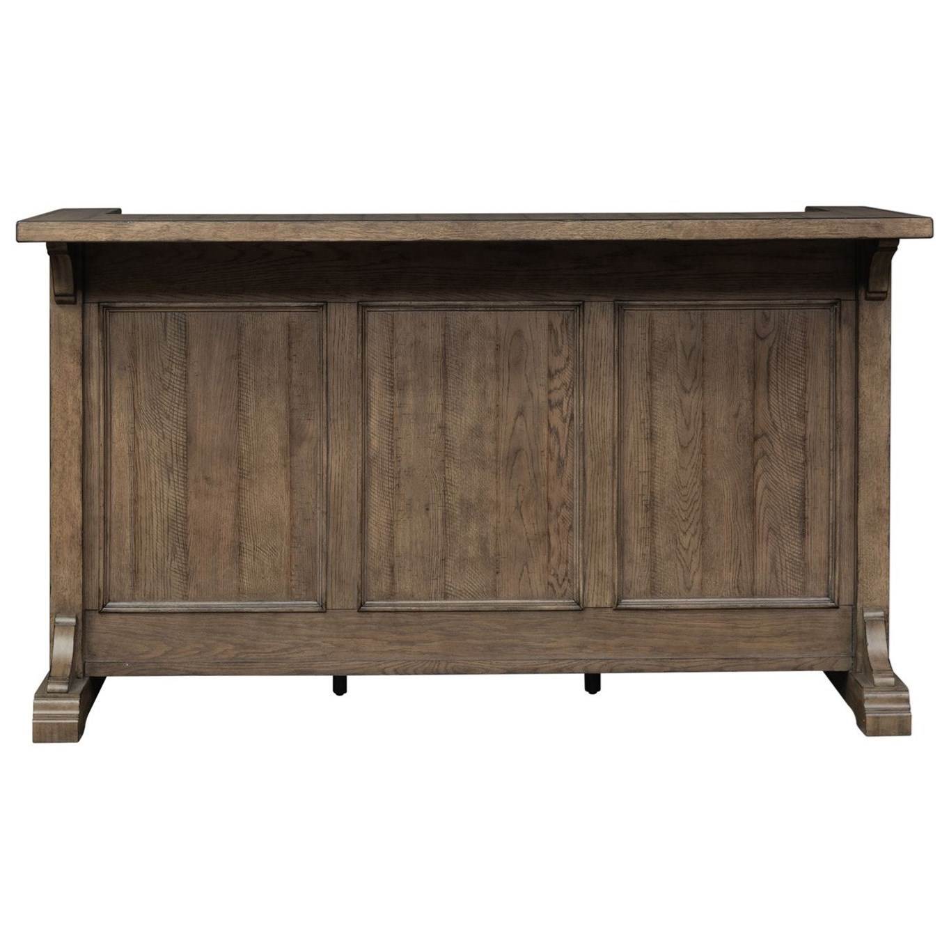 Liberty Furniture Harvest Home Relaxed Vintage Bar with ...