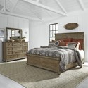 Liberty Furniture Harvest Home King Bedroom Group - Item Number: 779-BR-KPBDM