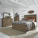 Liberty Furniture Harvest Home King Bedroom Group - Item Number: 779-BR-KPBDMC
