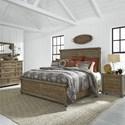 Liberty Furniture Harvest Home King Bedroom Group - Item Number: 779-BR-KPBDMN
