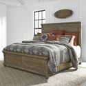 Liberty Furniture Harvest Home Queen Panel Bed - Item Number: 779-BR-QPB