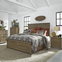 Liberty Furniture Harvest Home Queen Bedroom Group - Item Number: 779-BR-QPBDMCN