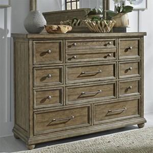 Liberty Furniture Harvest Home 11 Drawer Dresser