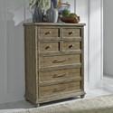 Liberty Furniture Harvest Home 5 Drawer Chest - Item Number: 779-BR41