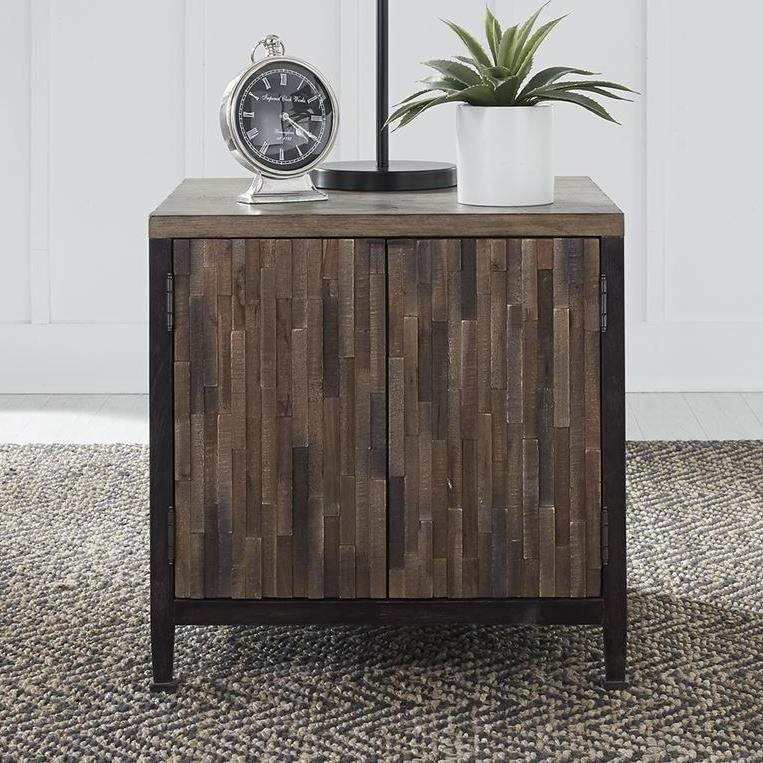 Harvest Home Door End Table by Libby at Walker's Furniture