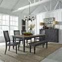 Liberty Furniture Harvest Home Formal Dining Room Group - Item Number: 879 Dining Room Group 1