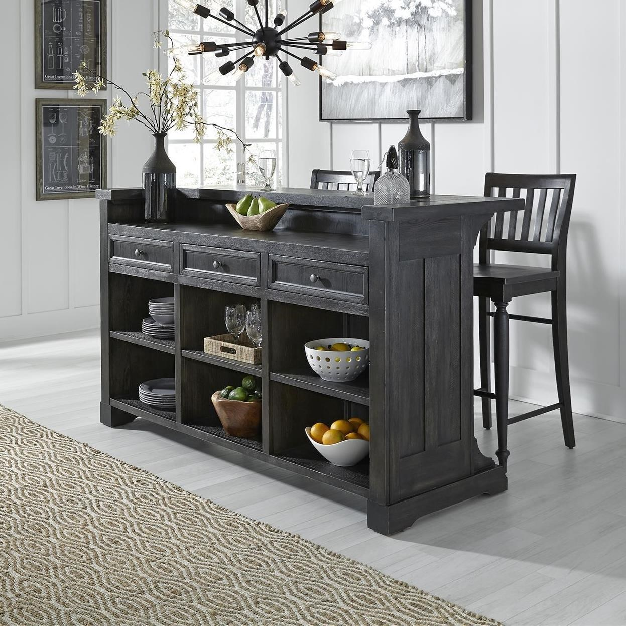 Harvest Home Bar by Libby at Walker's Furniture