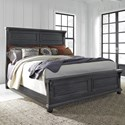 Liberty Furniture Harvest Home Queen Panel Bed - Item Number: 879-BR-QPB