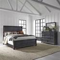 Liberty Furniture Harvest Home King Bedroom Group - Item Number: 879-BR-KPBDM