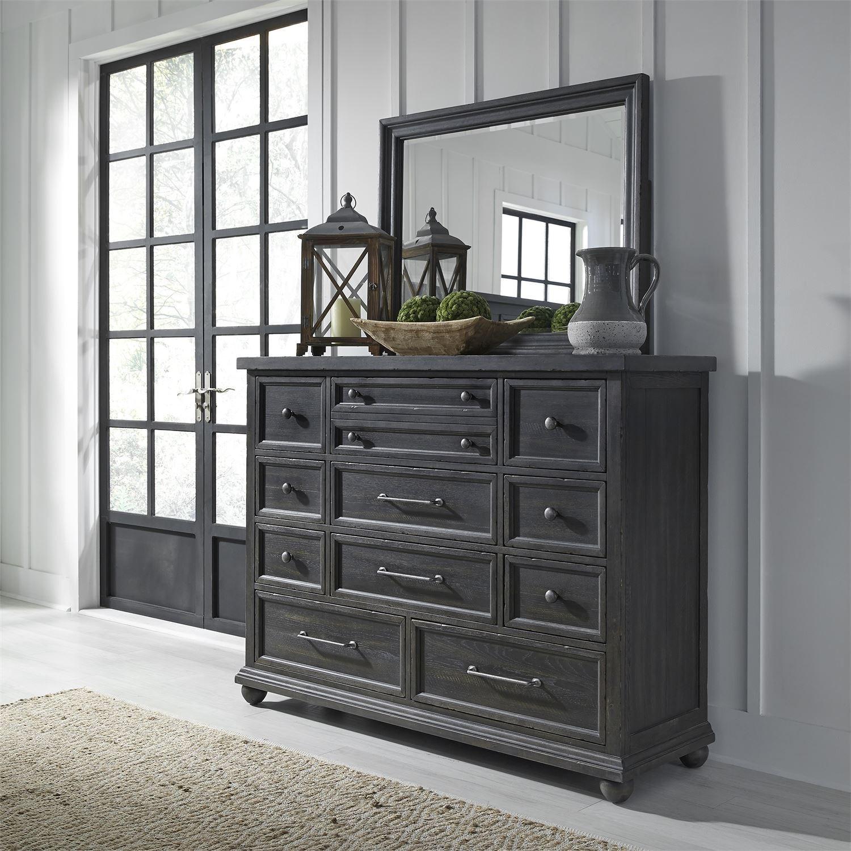 Liberty Furniture Harvest Home King Bedroom Group | Godby ...