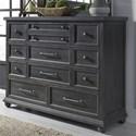 Liberty Furniture Harvest Home 11 Drawer Dresser - Item Number: 879-BR31