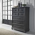 Liberty Furniture Harvest Home 5 Drawer Chest - Item Number: 879-BR41
