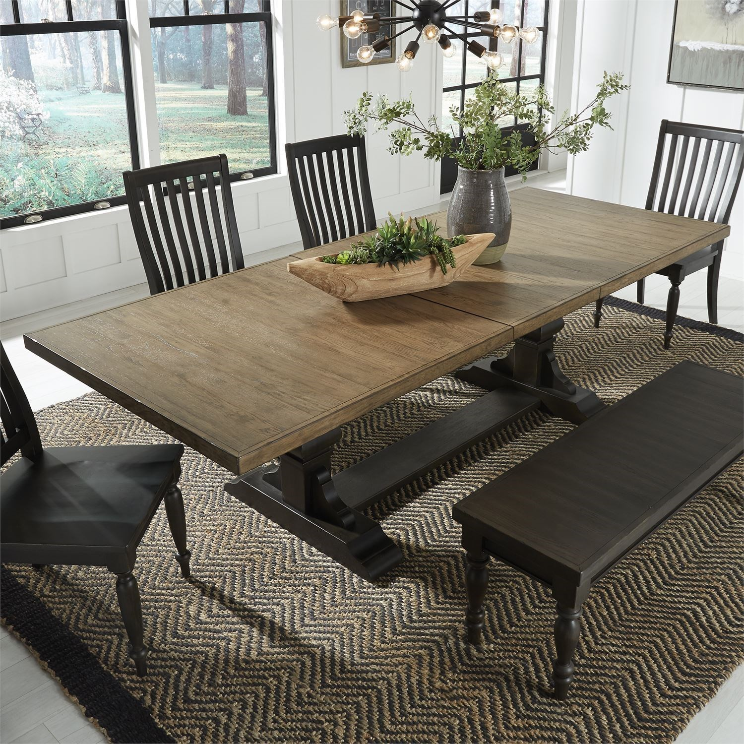 Liberty Furniture Harvest Home Relaxed Vintage Two-Toned ...
