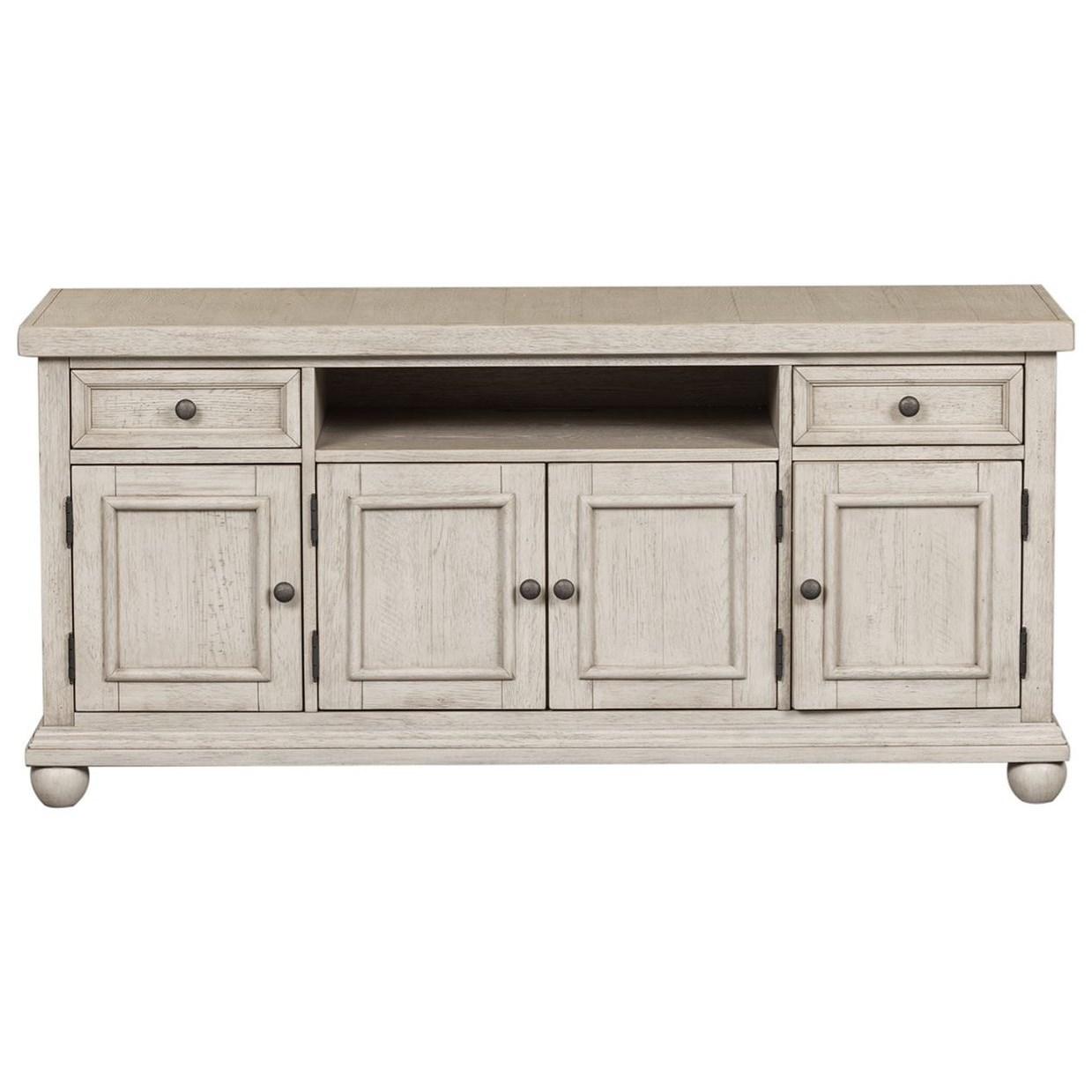 """Harvest Home 60"""" TV Console by Liberty Furniture at Northeast Factory Direct"""