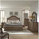 Liberty Furniture Haven Hall Queen 5 Pc Group - Item Number: 685-BR 5 Pc Group