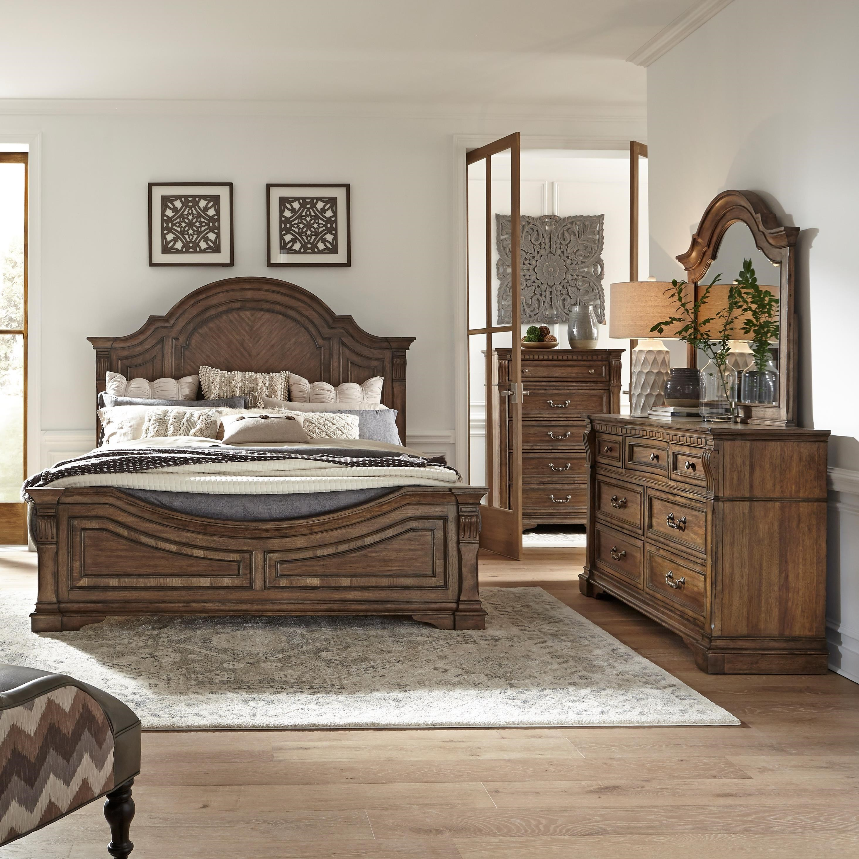 Haven Hall Queen Bedroom Group by Libby at Walker's Furniture