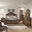 Liberty Furniture Haven Hall King Bedroom Group - Item Number: 685-BR-KPBDMCN